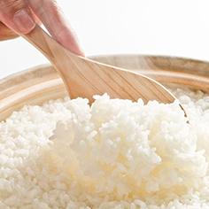 こだわりの「米」